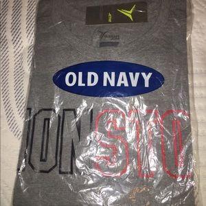Old Navy Tshirt NonStop Gray Shirt New in Bag